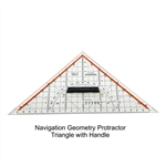 Professional Geometry Set Square,Drawing Triangle with Grip Handle Metric 250mm,Professional Geometry Set Square,Drawing Triangle with handle,drafting triangle, set square triangle,drawing a triangle,triangle drafting,Pico D1054 Geometry Set Square
