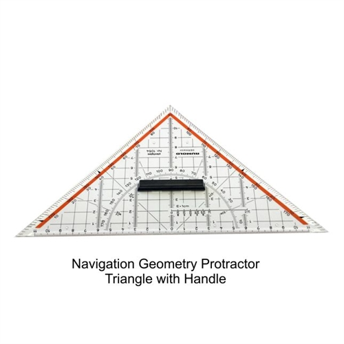 Navigation Geometry Protractor Triangle With Handle