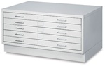 "Safco Facil 5-Drawer Small Flat File- for 24 x 36"" Drawing,Facil Small 4969LG,Safco Facil 5-Drawer Small Flat File- 4969LG,SAFCO PRODUCTS COMPANY,4969LG,073555496932,CS10406562,TRIMEGA,SAF4969LG,OFFICE PRODUCTS,  Facil File-Small"