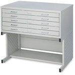 "Safco Facil 5-Drawer Medium Flat File- for 30 x 42"" Drawing,Facil Small 4972LG,Safco Facil 5-Drawer Medium Flat File- 4972LG,SAFCO PRODUCTS COMPANY,4972LG,073555497236,CS10409881,TRIMEGA,SAF4972LG,OFFICE PRODUCTS"