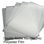 "Double Matte Xerographic, Laser/Copier Film .003 mil. 8.5"" X 11"" 100 sheets,drafting film,mylar sheet,mylar film sheets,Grafix Drafting Film,mylar roll,mylar rolls,polyester film sheets,mylar film rolls,mylar film roll,mylar sheeting,mylar polyester film,"