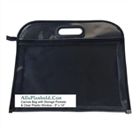 "Storage Bag/Case 9"" x 14"" with clear window,Alvin 12"" x 16"" Nylon & Vinyl Tool Case SKU #:NPK1216,Carry All Case,kit bag,supplies bag"