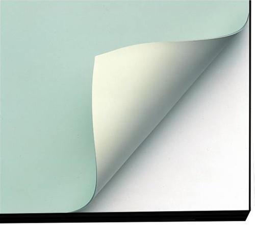Vinyl Board Cover 24 X 36 Green Cream Vyco Borco Pico 5 Ply