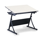 "Safco Planmaster Drafting Table with 37.5"" x 60"" Top,Safco PlanMaster Height-Adjustable Drafting Table 3957,Safco Planmaster Drafting Table with 37 1/2 x 60""Top,Safco 3952 Planmaster Top,Planmaster Drafting Table Base,Safco 3957,Drafting Table"
