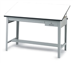 Safco Precision Drafting Table with 37.5 x 60in Top,Safco Precision Drafting Table with 37.5 x 60in Top,Precision Drafting Table,Precision Drafting Table Base,Safco 3962GR,Drafting Table,Adjustable Drawing Desk