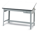 Safco Precision Drafting Table with 37.5 x 72in Top,Safco Precision Drafting Table with 37.5 x 60in Top,Precision Drafting Table,Precision Drafting Table Base,Safco 3962GR,Drafting Table,Adjustable Drawing Desk