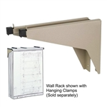 Atlas Drop/Lift Wall Rack,Safco Drop/Lift Wall Rack 5030,Safco 5030,Wall Rack,SAF5030,safco drop/lift wall rack - 32mm height x 197mm width x 305mm depth - steel - tropic sand,safco products company,art storage drafting storage,wall racks