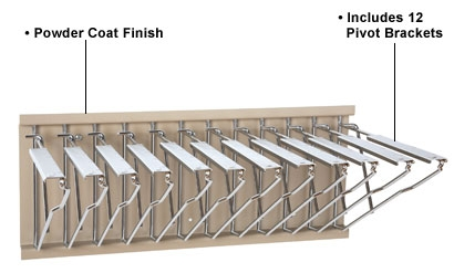 Blueprint pivot wall rack pivot brackets alfaplanhold your list price35255 malvernweather Image collections