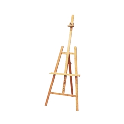 Solid Bamboo Easel Angelina Lyre-Style,ES-AN50, best h-frame easel,h-frame floor easel,h-frame studio easel,blick h-frame easel,deluxe H-style studio easel