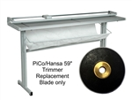 Hansa PiCo 59 inch Trimmer Replacement Blade 6160155,Replacement Blade for Hansa Rotary Paper Trimmer,Blueprint Trimmer Blade,Dahle Trimmer Blade,Styro Art nr h1157203,Large format paper cutter HANSA,Large format paper cutter blade
