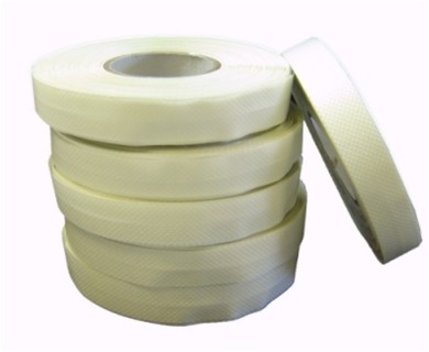 Skrebba edgebinding edging tape 13mm x 25 m white box of 6ea alternative views malvernweather Images