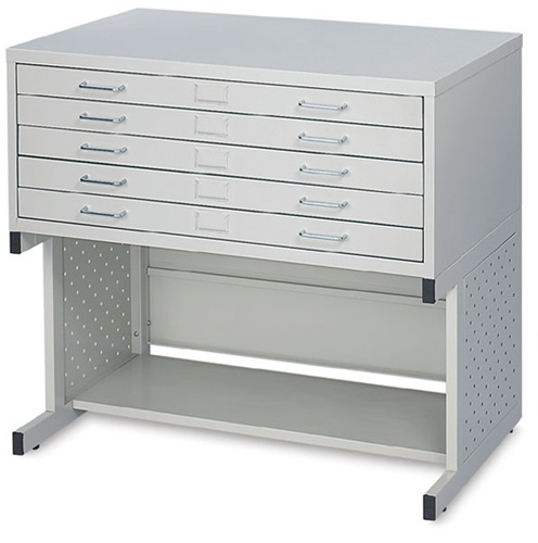 Safco facil 5 drawer medium flat file for 30 x 42 drawing list price110900 malvernweather