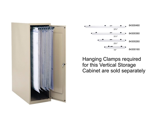 Safco Large Vertical Storage Cabinet 5041 Safco Products
