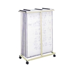 Safco Mobile Vertical File 5059,Safco Mobile Plan Center,Safco 5059,Blueprint Rack,Blueprint Stand,SAF5059,carts & trolleys safco,5059 saf5060 cheaper,blueprint organization,Map storage,Office furniture,Art drawing storage,Art drawing file