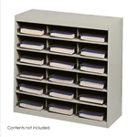 E-Z Stor Steel Project Organizer 18 Compartments 9264TS,Cubbies,Forms sorter,Literature sorter,Mail box, Mailbox,Teacher mailbox,Classroom mailbox,Classroom sorter,Classroom organizer,Paper organizer,Project organizer,Cubbies for classroom,Classroom cub
