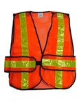 Hi Visibility 5-Point Tear Away Traffic Vest Orange,Orange High Visibility Traffic Vest,High Visibility Orange Traffic Safety Vests Traffic,Cruiser Vest,Survey Vest,Forestry Vest,Safety Clothing,construction safety apparel,surveyor safety vest