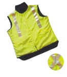 High Visibility Polar Fleece Vest