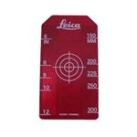 "Leica 756088 Piper Small Target Insert,Target insert, small 6-12"" (150-300mm) red (756088)"