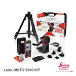 Leica Disto S910 Pro Pack Kit 806677,Leica™ Disto S910 Reliable Precision Measurement‎,Leica DISTO S910 Kit 806677 - Includes Laser Distance Meter, Tripod, Adapter, Target Plate, and Hard Case
