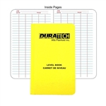 Duratech Survey Level Book 270-1202,PiCo Design Survey Level Book - S298370,Aviator's Flight Log Book,Pico Level Book,Survey Level Book,Survey Book,Geological Level Books,Economy Level Book,Sokkia Level Book,Topcon Levelsurvey book,Cansel Level survey