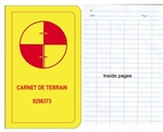 PiCo Carnet de Niveau - French Survey Level Book - S298370F,PiCo Level Book,Carnet de terrain T70F,Pico Level Book,Survey Level Book,Survey Book,Carnets d'arpentage et de nivellement,Water resistant Level Note books,Economy Level Book,Sokkia Level Book