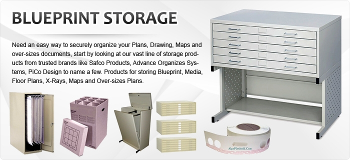Large document storage blueprint storage blueprint racks large document storage equipment need an easy way to securely organize your plans drawing maps and over sizes documents start by looking at our vast line malvernweather Gallery